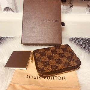 Louis Vuitton DE Zippy Coin Wallet